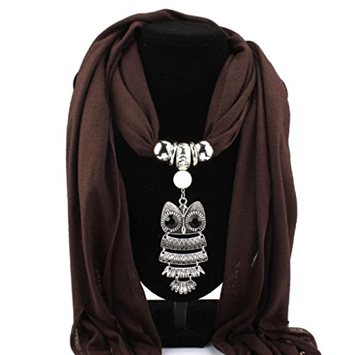 feitong-women-necklace-scarves-owl-pendant-jewelry-tassels-scarf-shawl-wrap-coffee