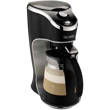 Mr. Coffee Cafe Latte Home Brewer, Black BVMC-EL1, Auto shut-off