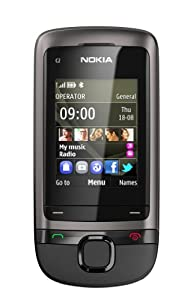 Nokia C2-05 Sim Free Mobile Phone - Dark Grey