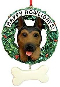 German Shepherd Happy Howlidays Ornaments [48874-D] from CD&G