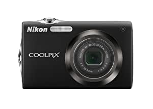 Nikon Coolpix S3000 12.0MP Digital Camera with 4x Optical Vibration Reduction (VR) Zoom and 2.7-Inch LCD (Black)