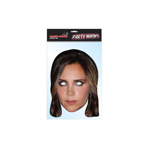 "High Quality Cardboard Party-Mask ""Victoria Beckham"""
