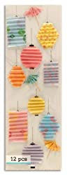 Martha Stewart Crafts Tropical Lantern Stickers By The Package