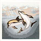 Dolphin Duo Cross Stitch Kit Animal Magic (Heritage Stitchcraft) AMDD485