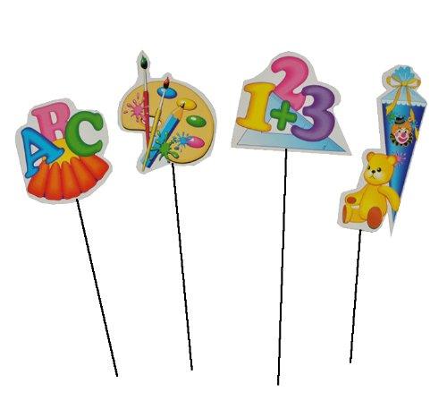 24 Tlg Set Xl Streumotive Abc Buchstaben Und Zahlen