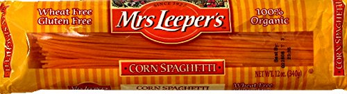 Mrs. Leeper's 100% Organic Wheat Free Corn Spaghetti (3x12 oz.) (Mrs Leepers Corn compare prices)