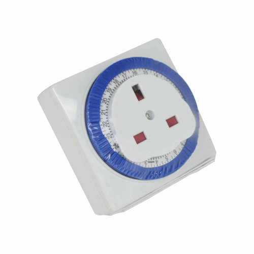 Status S24HRSQT4 24 Hour Segment Square Timer Switch by Status International