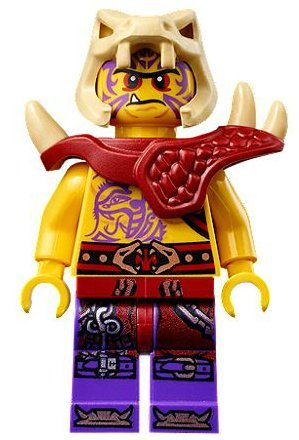 Lego Ninjago Zugu Minifigure with Sword - 1