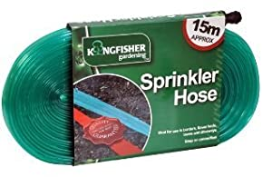 Kingfisher - Sprinkler Hose 15M Approx - Ideal For Borders Flower Beds Lawns