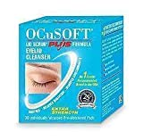 OCUSOFT PLUS PADS 30 - PRE MOISTENED EYE LID CLEANSER - 30 PADS