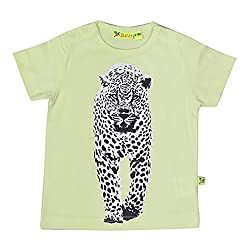 Buzzy Baby-Boys' Cotton T-Shirt (Yellow,6-9M)