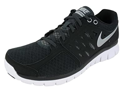 NIKE FLEX 2013 RN RUNNING SHOES 7 Men US (BLACK/MTLLC SLVR/ANTHRCT/WHITE)