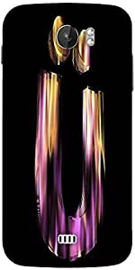 Snoogg Flaming 3D Letter Designer Protective Back Case Cover For Micromax A110