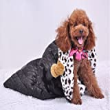 Coral Fleece Soft Warm Black Pet Dog Sleeping Bag --- Size:M (+£4.23)