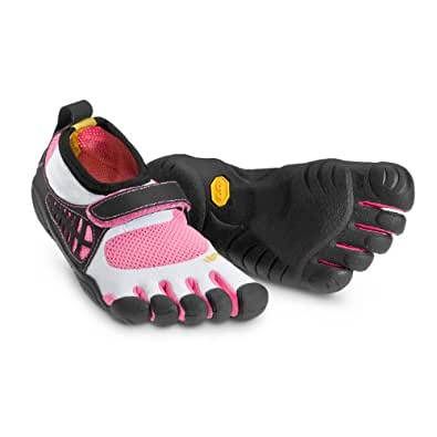 Vibram KSO Kid's, White/Pink/Black, 31