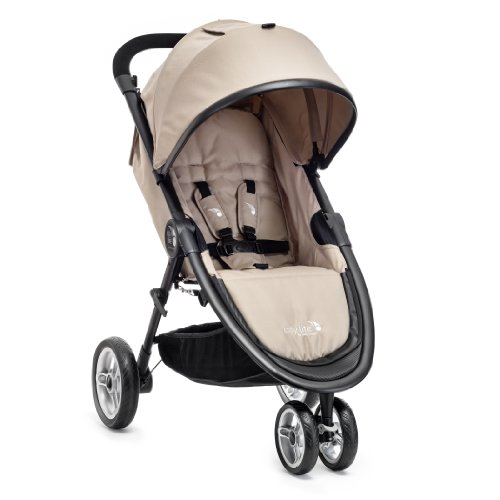 Baby Jogger City Lite Stroller, Tan back-351955