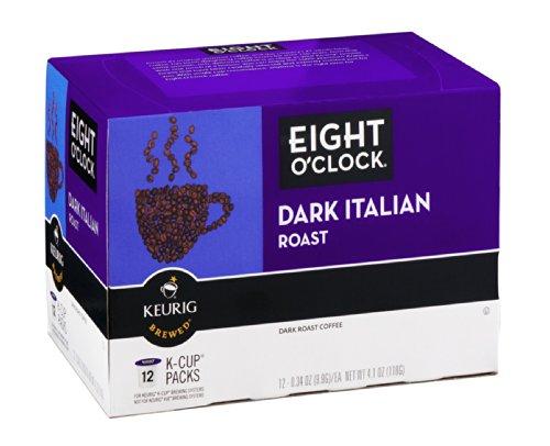 Eight O'Clock Dark Roast Italian K-Cup Packs 12Ct (Pack Of 18)