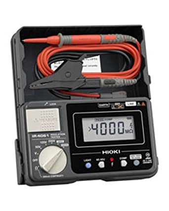 HIOKI(日置電機) IR4051-11 5レンジ デジタル絶縁抵抗計(スイッチ付リード9788-01付)