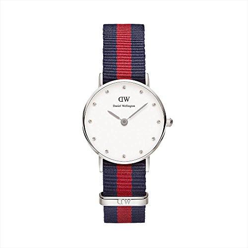 Daniel Wellington 0925DW - Reloj con correa de piel para mujer, color...