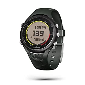 Suunto t4c Heart Rate Monitor and Fitness Trainer Watch (Black Frost)