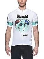 Bianchi Milano Maillot Ciclismo Fudoki (Blanco)