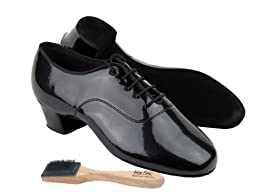 Men Ballroom Dance Shoes from Very Fine C2301 with Shoes Brush 1.5\