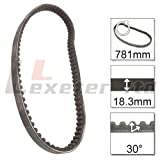 Drive Belt 18.3-30-781 V-Belt for Aprilia Habana Custom 50 1999-02