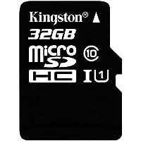 Kingston Digital 32GB microSDHC Cardw/Adaptor
