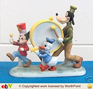 Disney's Mickey Mouse Marching Band Ceramic Figurine