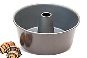 "Culina Premium Nonstick Angel Food Cake Pan 5"" Deep. 0.6 mm"