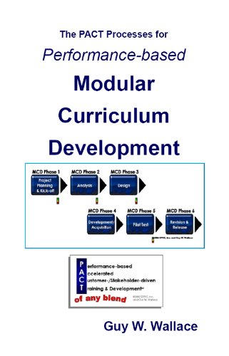Performance-Based Modular Curriculum Development