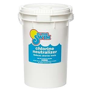 In The Swim Pool Water Chlorine Neutralizer 40 Lbs Patio Lawn Garden