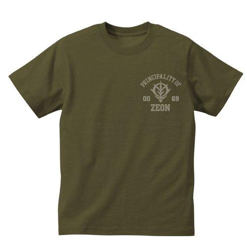 機動戦士ガンダム ジオン軍 ヘビーウェイトTシャツ モス サイズ:XL