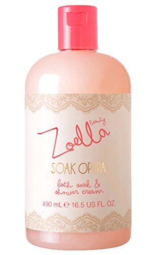 Zoella Beauty Soak Opera Bath Soak & Shower Cream 490ml
