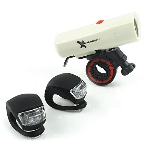 Powerful, Durable 250-Lumen Combination Led Bike Headlight-Tail Light Provides Brilliant, Long-Lasting Illumination For Maximum Security And Safety. Built For The Serious Bike Rider
