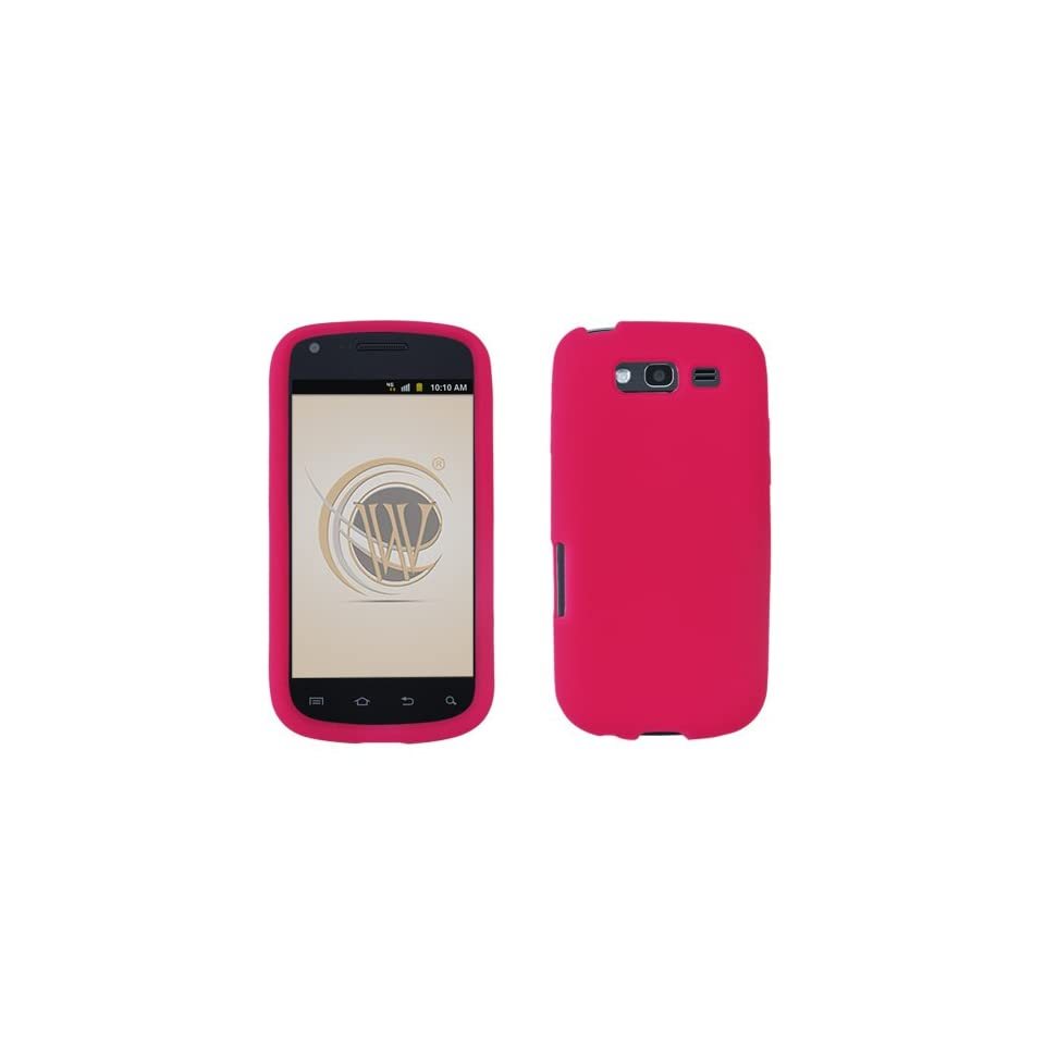 BC Silicone Sleeve Gel Cover Skin Case for T Mobile Samsung Galaxy S Blaze 4G T999 Magenta Pink