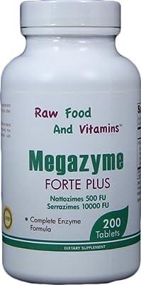 One Bottle of Megazyme Tablets / 200 Tablets