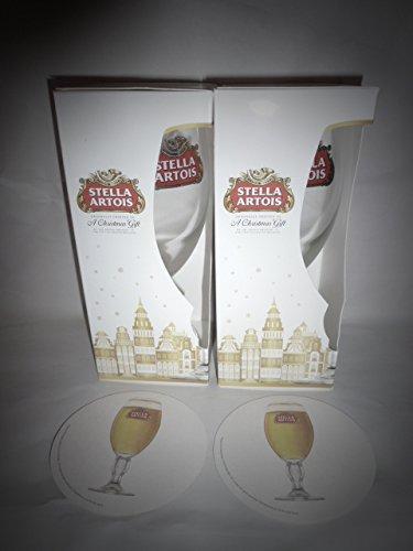 stella-artois-33cl-half-pint-glasses-set-of-2-xmas-gift-set-plus-2-beer-mats