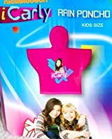 Nickelodeon Icarly Rain Poncho - Icarly Rain Poncho - Icarly Rain Accessories
