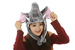 Colorfulworldstore 42 styles Pets Unisex Plush Animal Hats Costume Hood Toys Performance props