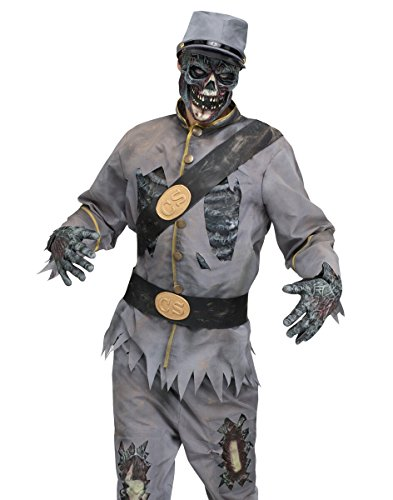 Scary Walking Dead Confederate Zombie Adult Halloween Costume