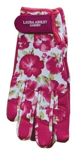 Laura Ashley 3A074565 Chic Garden Glove, Cressida, Medium