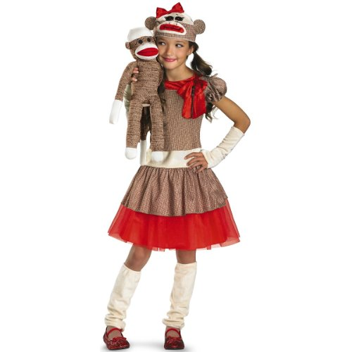 Sock Monkey Girl - Small