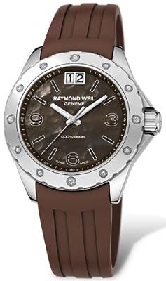 Raymond Weil Women's 6170-SR2-05997 RW Spirit Dark Mother-Of-Pearl Dial Watch