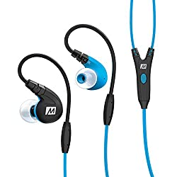 MEE Audio M7P Over-Ear Headphones with Mic (Blue)