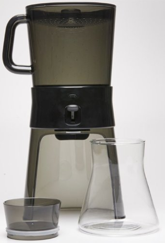 Oxo Good Grips Cold Brew Coffee Maker, Clear/Grey