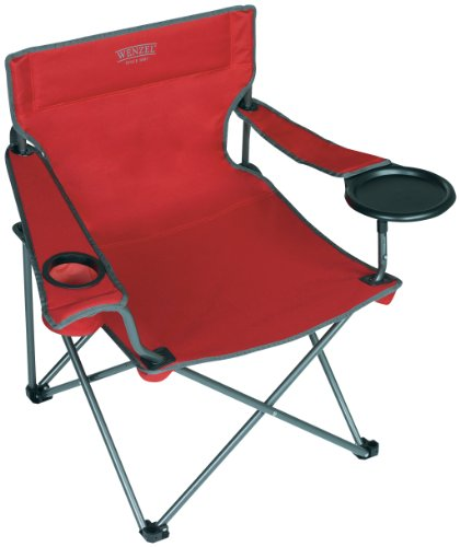 Wenzel Banquet Chair, X-Large, Red front-914906