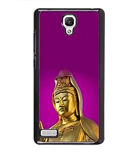 printtech Lord God Buddha Back Case Cover for Xiaomi Redmi Note::Xiaomi Redmi Note 4G