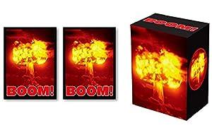 100 Legion BOOM Deck Protectors & Deck Box Combo Set Legion Supplies ART Sleeves 2-Packs - Standard Magic the Gathering Size