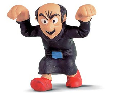 "Gargamel ~2.3"" Mini-Figure in a Gift Bag: Schleich Mini Figure Series [204188] - 1"
